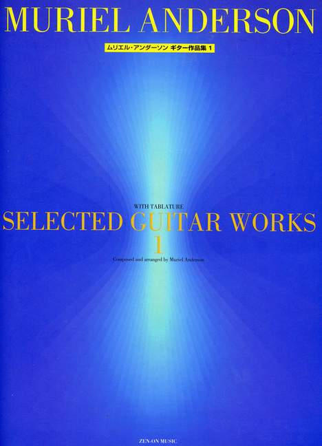 Muriel guitar 9790223303934 Selected Guitar Works Vol 1 Anderson